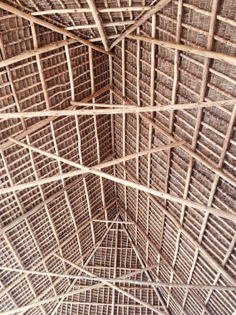Dachkonstruktion Makuti